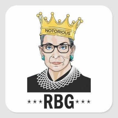 RBG SQUARE STICKER
