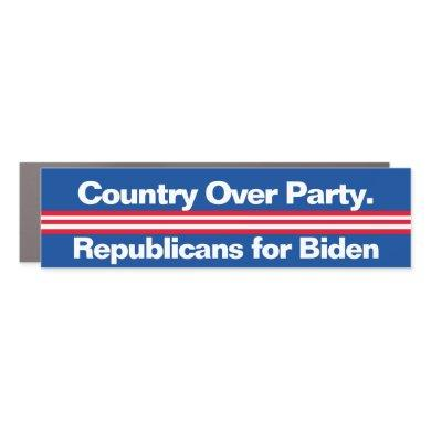 Republicans for Biden Car Maget Car Magnet