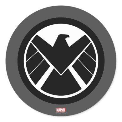S.H.I.E.L.D Icon Classic Round Sticker