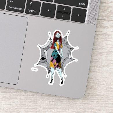 Sally in Spider Web Sticker