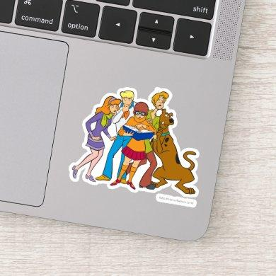 Scooby-Doo and the Gang Investigate Book Sticker
