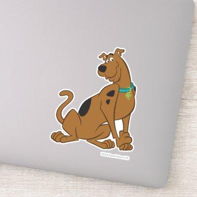 Scooby-Doo Bashful Pose Sticker
