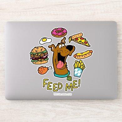 Scooby-Doo Feed Me! Sticker