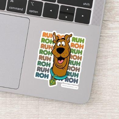 Scooby-Doo Ruh Roh Sticker