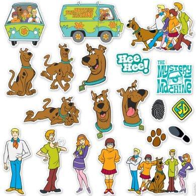 Scooby Doo Sticker Set