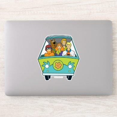 Scooby-Doo & The Gang Mystery Machine Sticker