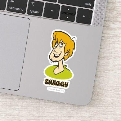 Shaggy Name Graphic Sticker