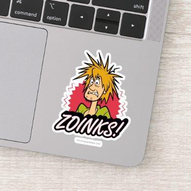 "Shaggy ""Zoinks!"" Graphic Sticker"