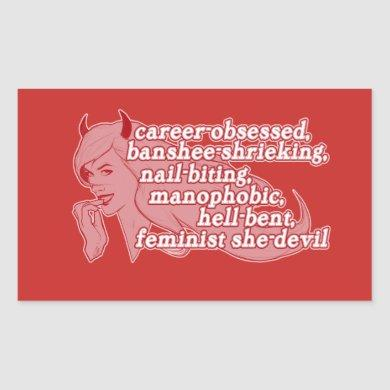 She-Devil sticker