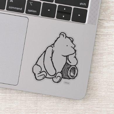 Sketch Winnie the Pooh 2 Sticker
