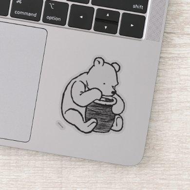 Sketch Winnie the Pooh 3 Sticker
