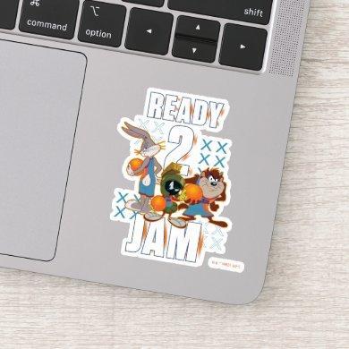 SPACE JAM: A NEW LEGACY™   Ready 2 Jam Sticker