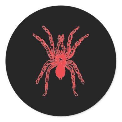 Spider Graphic Design Classic Round Sticker