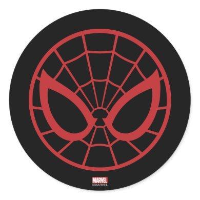 Spider-Man Iconic Graphic Classic Round Sticker
