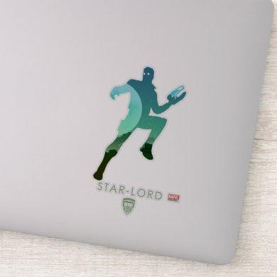 Star-Lord Heroic Silhouette Sticker