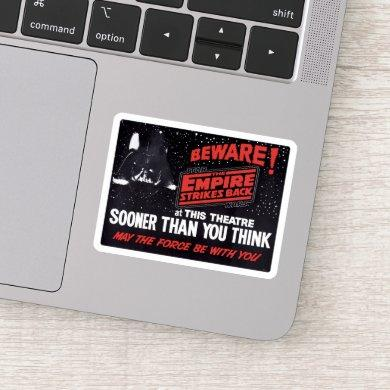 Star Wars: The Empire Strikes Back - Beware! Sticker