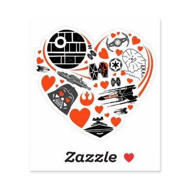 Star Wars | Valentine's Day Heart Icon Sticker