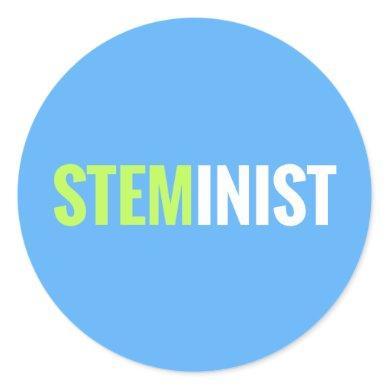 STEMinist Sticker - Round