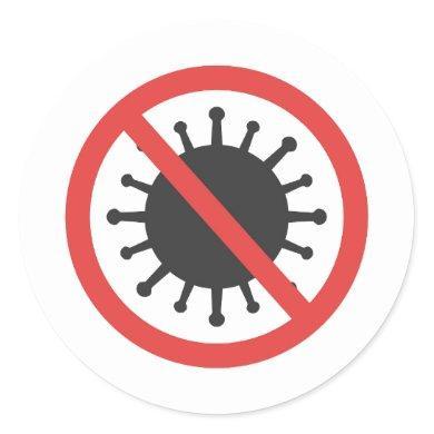 Stop coronavirus Sticker