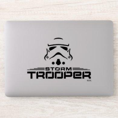 Stormtrooper Simplified Graphic Sticker