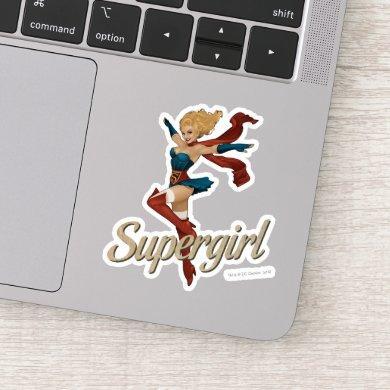 Supergirl Bombshell Sticker