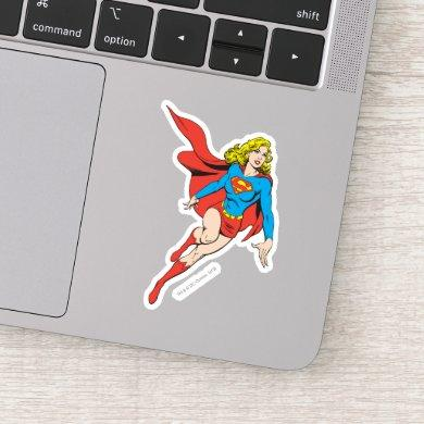 Supergirl on the Move Sticker