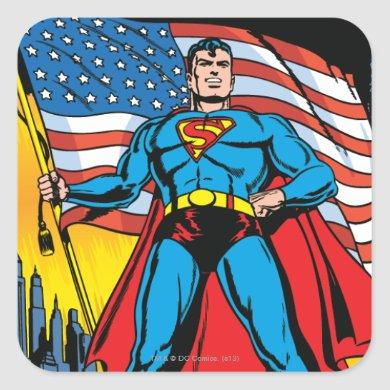 Superman #24 square sticker
