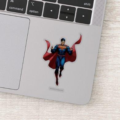 Superman Flying Sticker