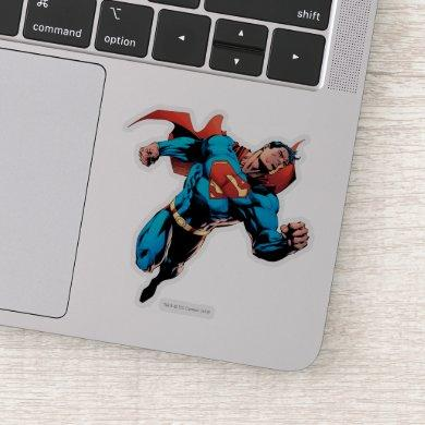Superman in suit sticker