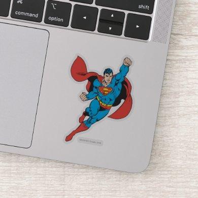 Superman Right Fist Raised Sticker