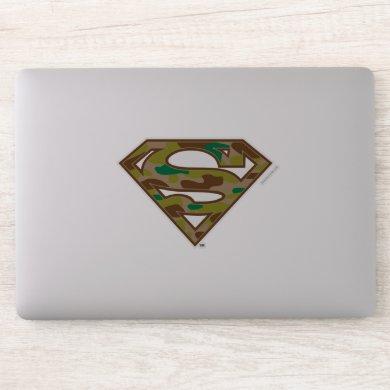 Superman S-Shield | Camouflage Logo Sticker