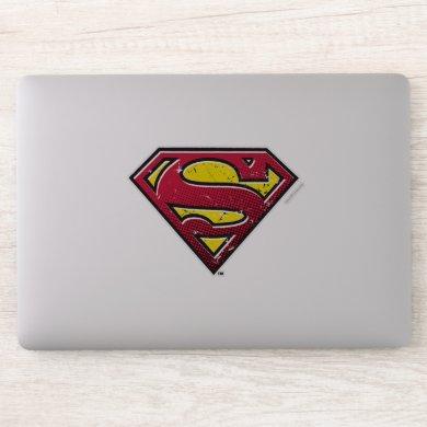 Superman S-Shield | Scratches Logo Sticker