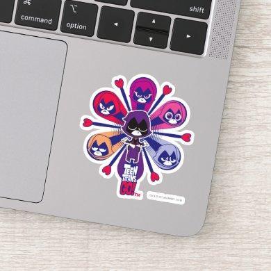 Teen Titans Go!   Raven's Emoticlones Sticker