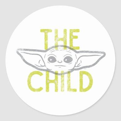 The Child Classic Round Sticker
