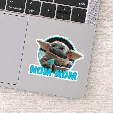 The Child Eating Cookie - Nom Nom Sticker