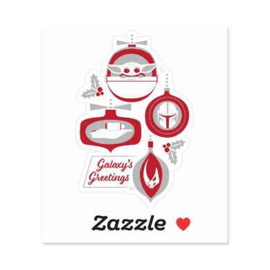 The Child | Galaxy's Greetings Ornaments Sticker