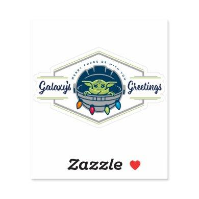 The Child | Galaxy's Greetings Sticker