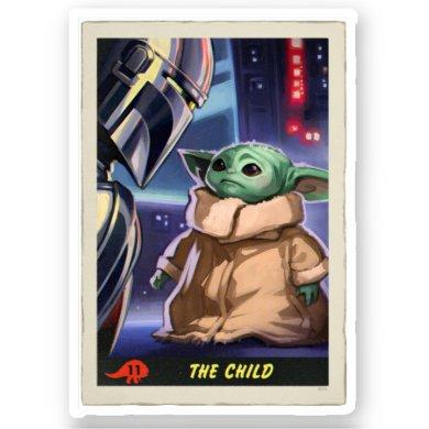 The Child | Trading Card Sticker