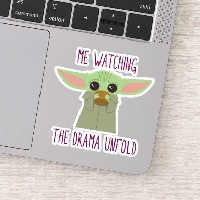 The Child - Watching The Drama Unfold Sticker