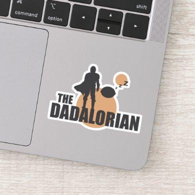 The Dadalorian & Sleeping Grogu Sticker