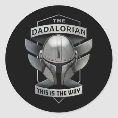 The Dadalorian - This Is The Way Classic Round Sticker
