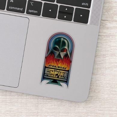 The Empire Strikes Back - Darth Vader Flames Sticker