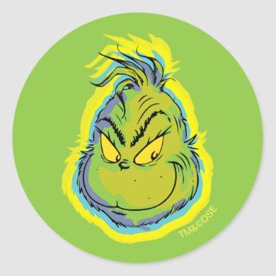 The Grinch | Funny Sorry I Was Late I Didn't Want  Classic Round Sticker