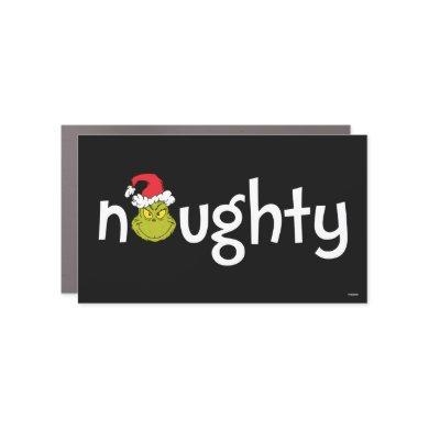The Grinch is Naughty Car Magnet