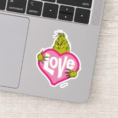 The Grinch | Love Sticker
