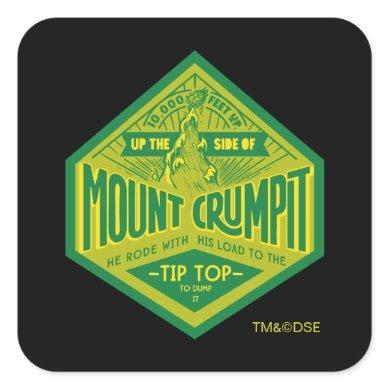 The Grinch   Mount Crumpit Square Sticker