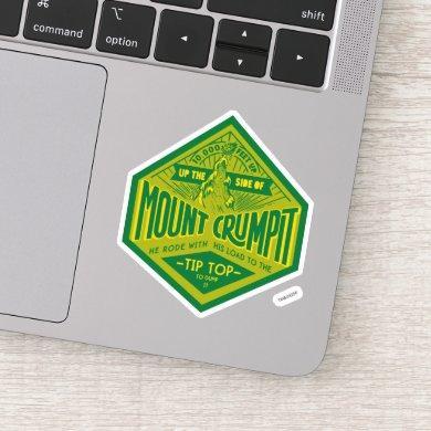 The Grinch   Mount Crumpit Sticker