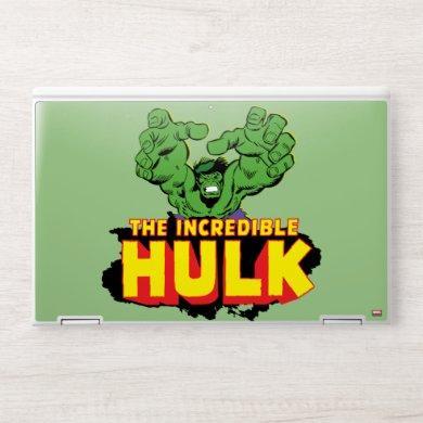 The Incredible Hulk Logo HP Laptop Skin