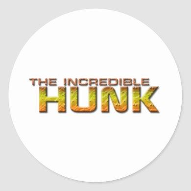 The Incredible Hunk Classic Round Sticker