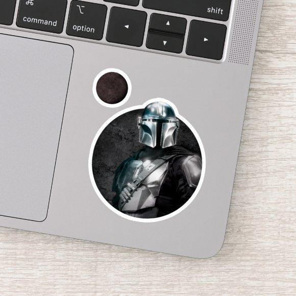 The Mandalorian Dark Planet Graphic Sticker
